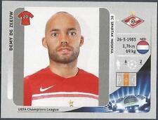PANINI UEFA CHAMPIONS LEAGUE 2012-13- #489-SPARTAK MOSCOW-DEMY DE ZEEUW
