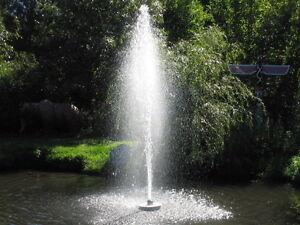CasCade 5000 INTERCONTINENTAL!!!   Floating Pond Fountain Aerator -  CUSTOMIZED!