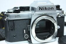 Nikon Fa 35mm Slr Film Camera Silver Body Only with strap from Japan Excellent