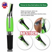 Personal Hair Trimmer Groomer Nose Ear Eyebrows Neck Hair Remover Shaver Light%N