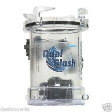 RV Dual Flush RV Holding Tank Rinser Clean Spray Black Water Camper Reduce Odor