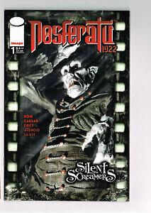 SILENT SCREAMERS NOSFERATU #1 IMAGE COMIC 2000 NM+ A ROSS 1922 VAMPIRE MOVIE 1st