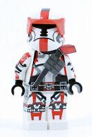 Lego OLD REPUBLIC TROOPER Red Minifigure -Full Body Custom Printed! CAC