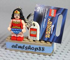 LEGO DC Super Heroes - Wonder Woman Minifigure Keychain 6862 DC Comics Universe
