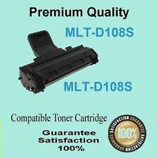 2x Toner Cartridge MLT-D108S for SAMSUNG ML1640 ML 1640 ML2240 ML 2240 Printer