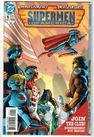 1999 SUPERMEN OF AMERICA #1 with Membership Kit DC Comic Book