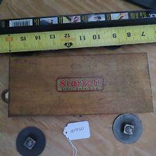 Vintage Starrett Athol Mass. USA measuring/Calibration tool? in box (lot#10450)