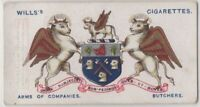 Worshipful Company of Butchers London England Craft Guild 100+ Y/O Trade Ad Card