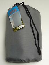 Double Sleeping Bag Liner (Grey) 100% Polyester with Carry Bag - New