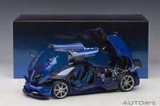 AUTOart 78277 - 1/18 Pagani Huayra BC 2016 - Blue Francia/Carbon - Neu