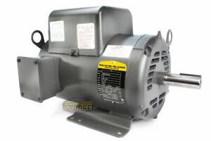 Baldor 7.5 Hp Electric Motor 3450 RPM 184 T Frame 1 Ph Single Phase 208/230 Volt