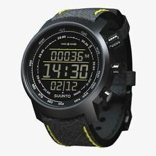 NEW Suunto Elementum Terra Black / Yellow Leather Premium Watch SS019997000