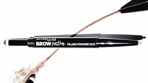 Maybelline Brow Satin Eye Brow Duo Pencil & Filling Powder -Choose Colour-