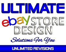 Custom eBay Store Design / Mobile Responsive / eBay Auction Listing Template USA