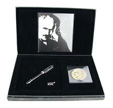 MONTBLANC ARTURO TOSCANINI 101171 18K GOLD NIB EF FOUNTAIN PEN & COIN NEW BOX