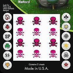 Golfdotz Pink Skullmania (24 Total)