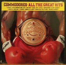 """NEW 1982 Commodores 'All The Great Hits"""" Record LP Vinyl Sealed Motown Records"""