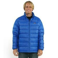 Patagonia Men's Hi-Loft Viking Blue Down Sweater Large L EUC MSRP $250