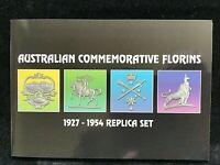 Australian Florin Collection  Commemorative TRIPBTE Set 1927 1934/35 1951 1954