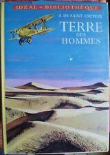 Idéal-Bibliothèque - Antoine de Saint-Exupéry - Terre des hommes - Hachette 62
