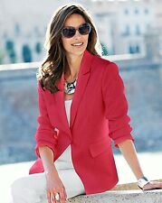 Tailored jacket size 14 tomato red brand new ref ryl 13