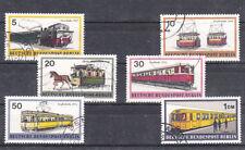 v4176 Berlin/ Eisenbahn  MiNr 379/84 o