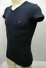 T-shirt maglietta V uomo man EMPORIO ARMANI 110810 3P725 T.52/XL c.00135 marine
