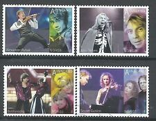 ˳˳ ҉ ˳˳NO09 Norway Norge Complete set 2010 different Music Singers Rock
