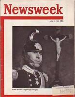 1950 Newsweek April 10-Hughes' big Helicopter; McCarthy