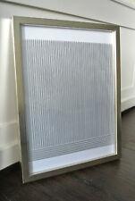 Heinz Mack Druck auf transparenter Folie 1974 gerahmt ZERO