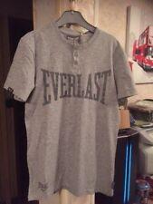 EVERLAST USA T-shirt LOGO Top slim fit Grey Size M - BNWT $2.99 post worldwide