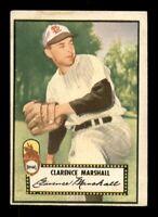 1952 Topps Set Break # 174 Clarence Marshall VG *OBGcards*