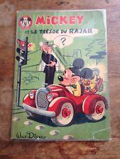 mickey et le trésor du rajah 1960 walt disney BD ancienne
