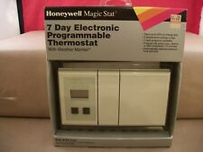 NOS Honeywell Magic Stat MS3000p 7 Day Electronic Programmable Thermostat