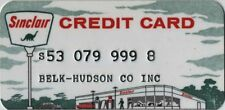 Sinclair Credit Card from 1961 - Sinclair Refining Company - Rare