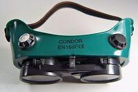 Occhiali Saldatore Pieghevole Svizzero di Protezione con 4 Aperture Ventilazione