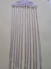 UK Wholesale Jewellery 48 Pieces of 31 inch Silver Trace Necklace Pendant Chain