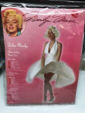 Marilyn Monroe 00748 Deluxe Marilyn Pleated Dress Costume X-Large 12-14
