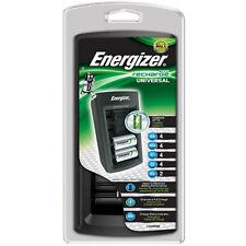 Energizer 3 Hora Universal Cargador De Baterías Para Aa Aaa C D Y 9v Ni-mh Ni-cd