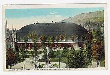 Salt Lake Utah Great Mormon Tavernace and Sea Gull Monument