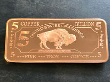 USA American Buffalo 5 oz Unzen 999 Kupferbarren Copperbar Kupfer Feinkupfer