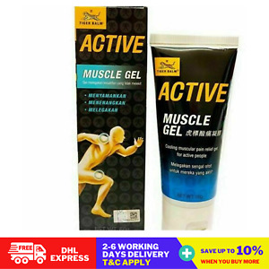 Tiger Balm Active Muscle Gel For Cooling Pain, Sprains, Sore Muscular 60g