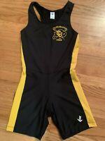 Jl Velo Colorado Buffaloes Black Cycling Team Race Bib Suit Women Sz Small CU
