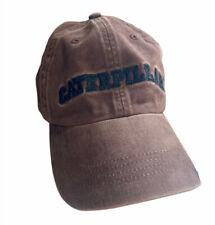 """CAT Caterpillar Embroidered Logo """"A Little Dirt Never Hurt"""" Baseball Cap Hat"""