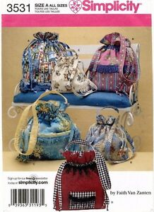 Simplicity Bags  Pattern 3531 UNCUT