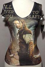 "Women's V-Neck T-Shirt ""Snow White and the Huntsman"" Medium M 100% Polyester"