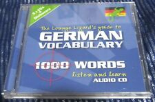 Lounge Lizards Guide to German Vocabulary, Lounge Lizard Publications Ltd, Used;