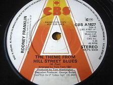 "RODNEY FRANKLIN - THEME FROM HILL STREET BLUES   7"" VINYL PROMO"