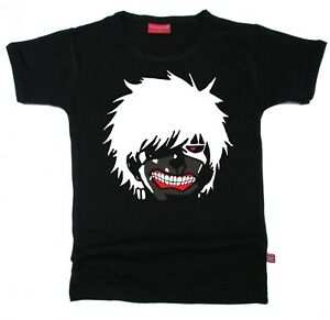 STARDUST ETHICAL KIDS CHILDRENS TOKYO GHOUL ANIME T-SHIRT (BLACK)