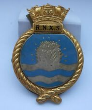 Royal Navy auxiliary service  - RNXS  mine spotters   beret badge by Gaunt